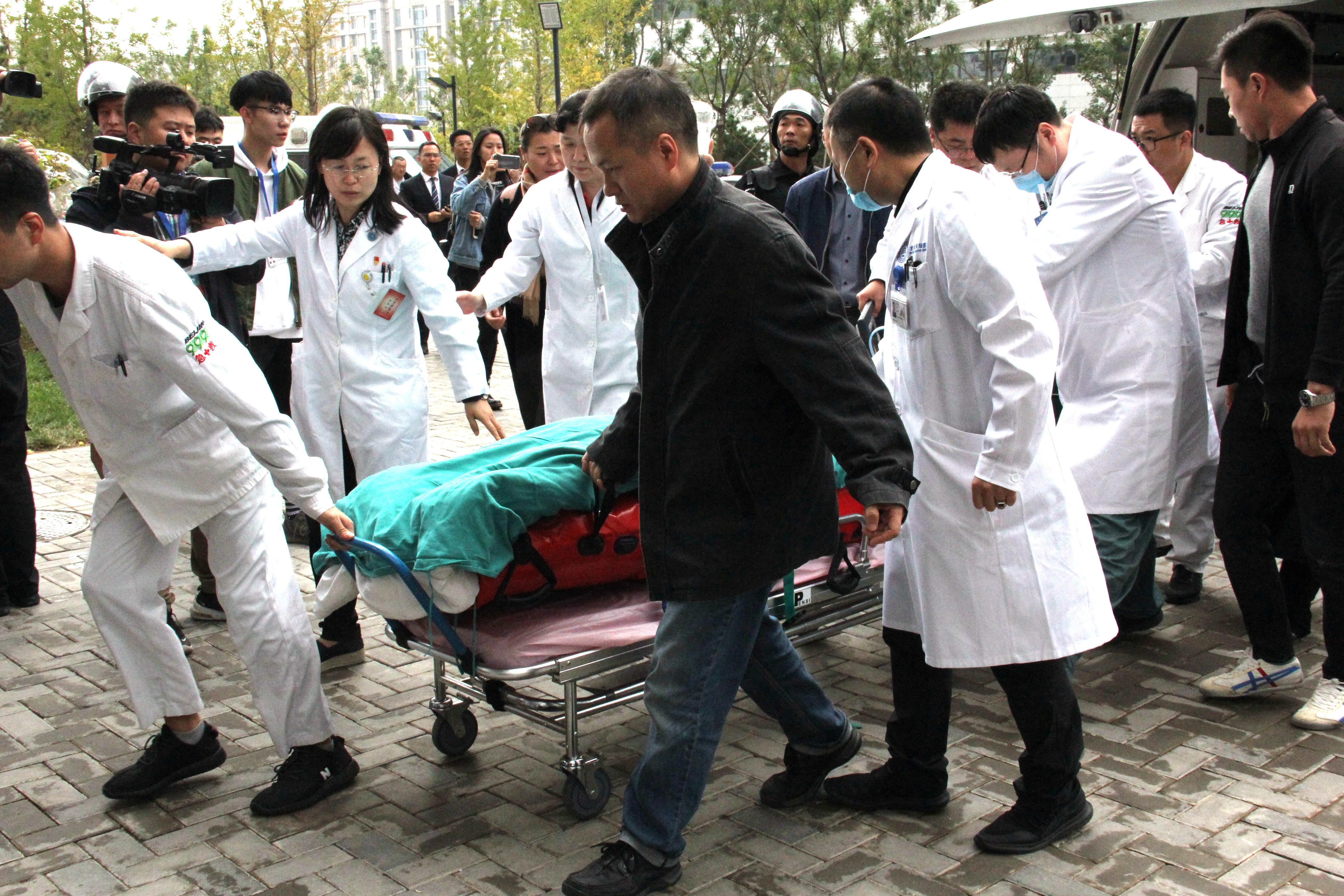重伤少年由内蒙古转院至北京