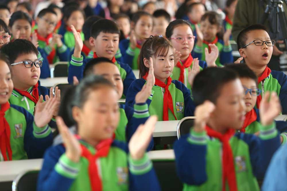近视率高于全国水平,2018年北京近六成儿童青少年近视