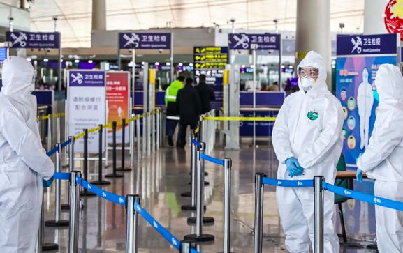境外疫情告急!看镜头里的首都机场如何防疫守国门