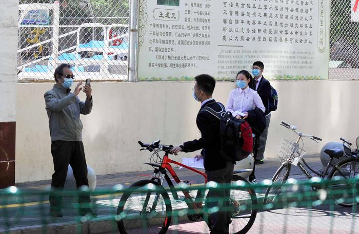 北京8万多初三学生今起返校