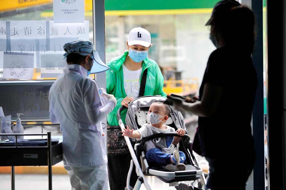 疫苗接种难,健康时报记者探访北京社区服务中心