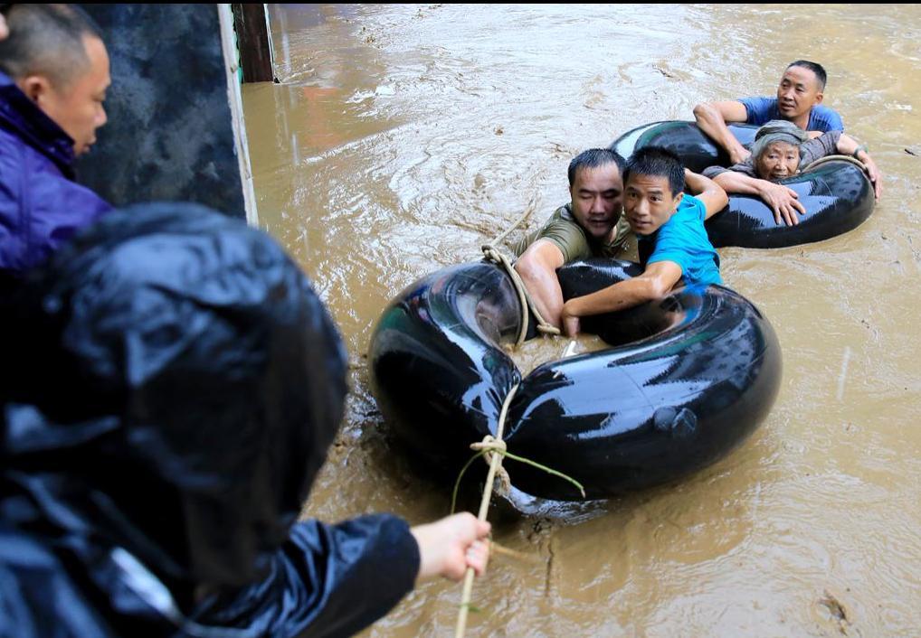 我国全面进入汛期,148条河流超警戒水位