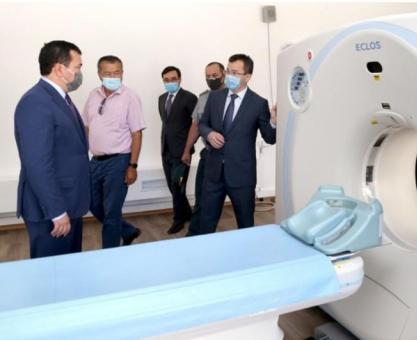 哈萨克斯坦隔离措施再延长,新建肺科医院投入使用