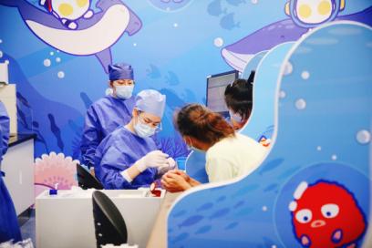 新华医院儿科综合楼门急诊7月31日试运行!