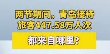两节假期,青岛接待游客447.58万人次!他们从哪儿来?