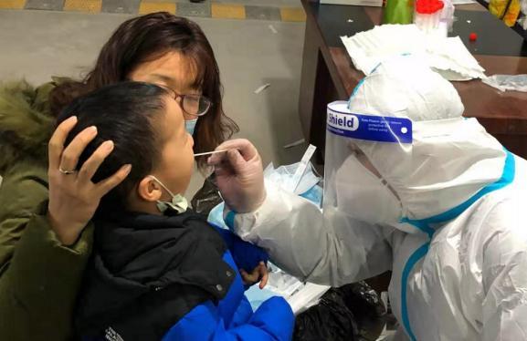 石家庄已有15位儿童确诊新冠