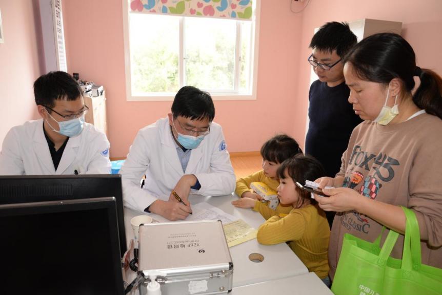 中国儿童生长发育健康传播行动走进浦江县妇幼保健院