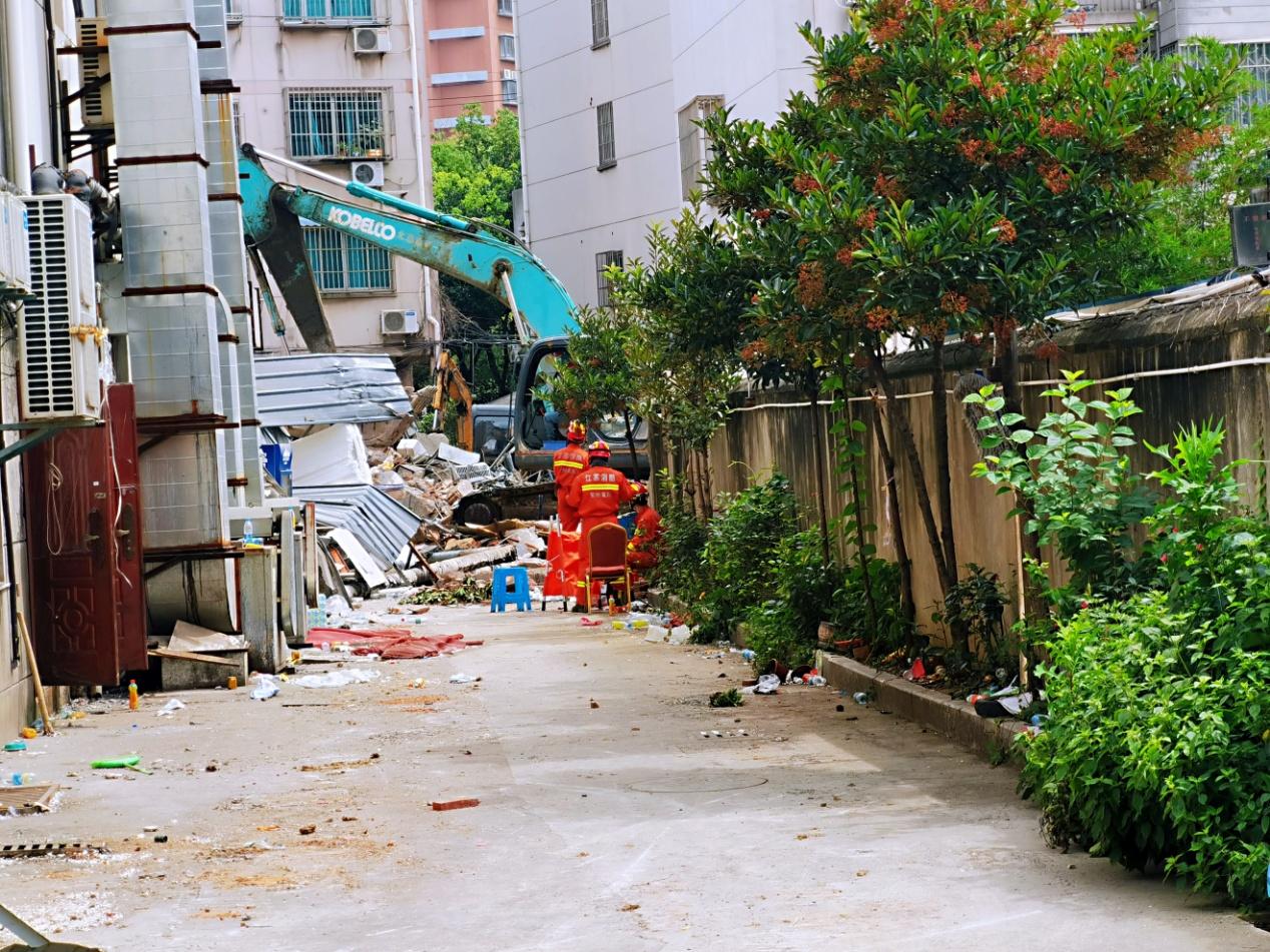 苏州吴江一酒店发生倒塌,两年内全国发生三起
