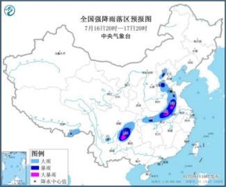 周末北京、河北、山东等将现大到暴雨!